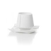Underkop, hvid med kop